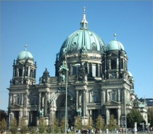 Berliner Dom cathedral.