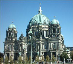Berliner Dom cathedral.