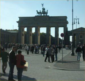 The Brandenberg gate.