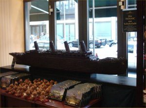 Chocolate Titanic.