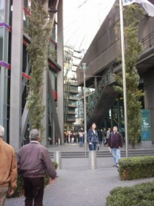 Sony Centre.