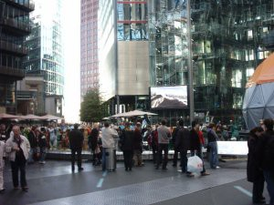 More of the Sony Centre.
