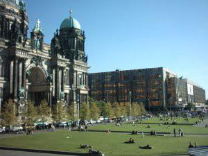 Stasi building.