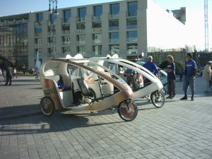 Peddle Taxi.