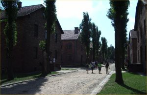 Buildings around Aushwitz