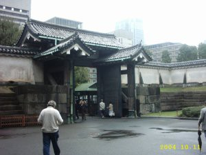 Door to the Royal Gardens