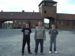The tower at Auschwitz