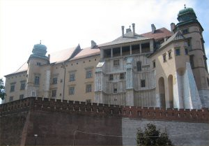 The Royal castle at Wawel hill
