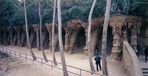 Around Park Guell