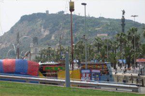 Montjuic hill