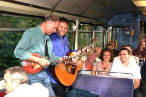 On the Music train