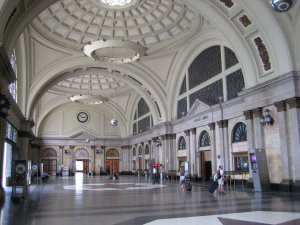 Barcelona railway station