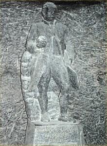 Von Goethe statue