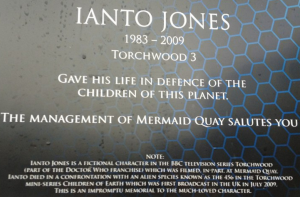 Council message Ianto Jones not being real