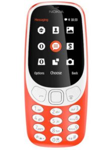 The classic Nokia 3310 redesigned.