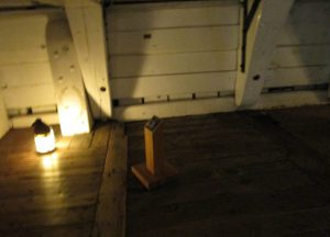 Bellow decks on HMS Victory where Admiral Nelson died