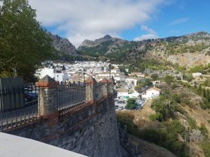 Overlooking the town of Grazalema