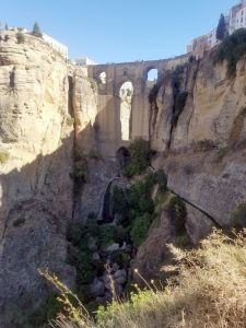 Spectacular bridge in Ronda