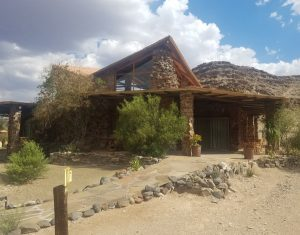 Our accomodation at the Zebra River Lodge
