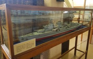 Model ship built by a POW