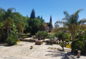 The beautiful government gardens
