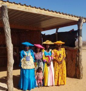 Some Himba tribal ladies