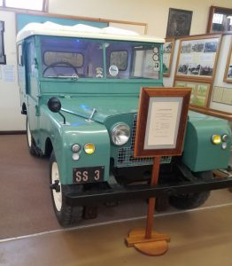 Landrover from the 1950's