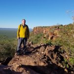 Standing on the Waterberg plateau
