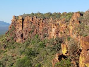 A view of the actual Waterberg Plateau
