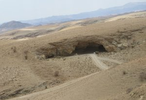 Kuiseb Canyon, where the heroe's of sheltering desert lived for 2 and a half years