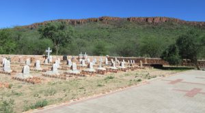 The Waterberg Plateau and German Graveyard.