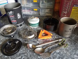 Camping stove and other cooking equipment